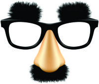 Mask - Groucho