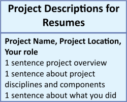 Proj des for resume