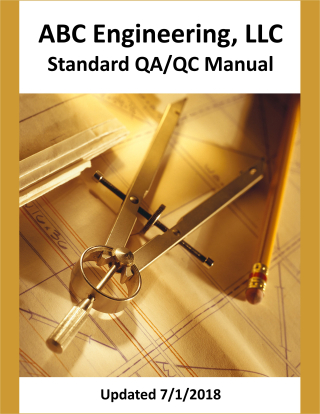 QA-QC Manual cover